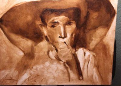 Oil value studies, 8x10 (Masters Paintings study)